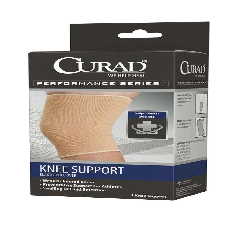 medline Curad Extra-Large Pull-Over Knee Support