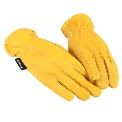 Premium Deerskin Leather Driver's Gloves (Women's M)