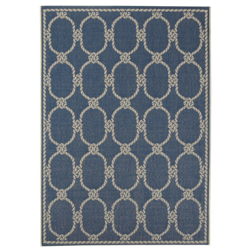 Home decorators collection shore blue 3 ft 9 in x 5 ft for Home decorators rugs blue