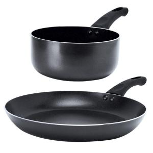 Ecolution Elements 2-Piece Gray Cookware Set by Ecolution