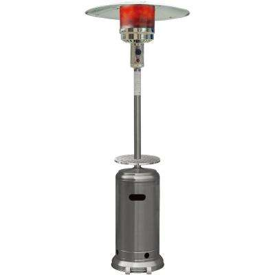7 ft. 41,000 BTU Stainless Steel Umbrella Propane Gas Patio Heater