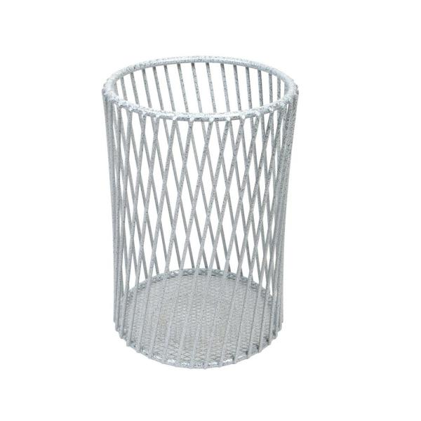 Speckled Cutlery Basket in White