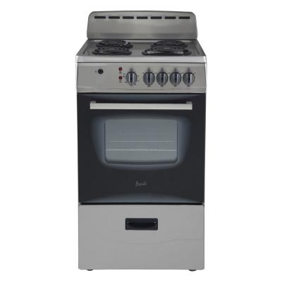 20 in. 2.1 cu. ft. Electric Range in Stainless Steel