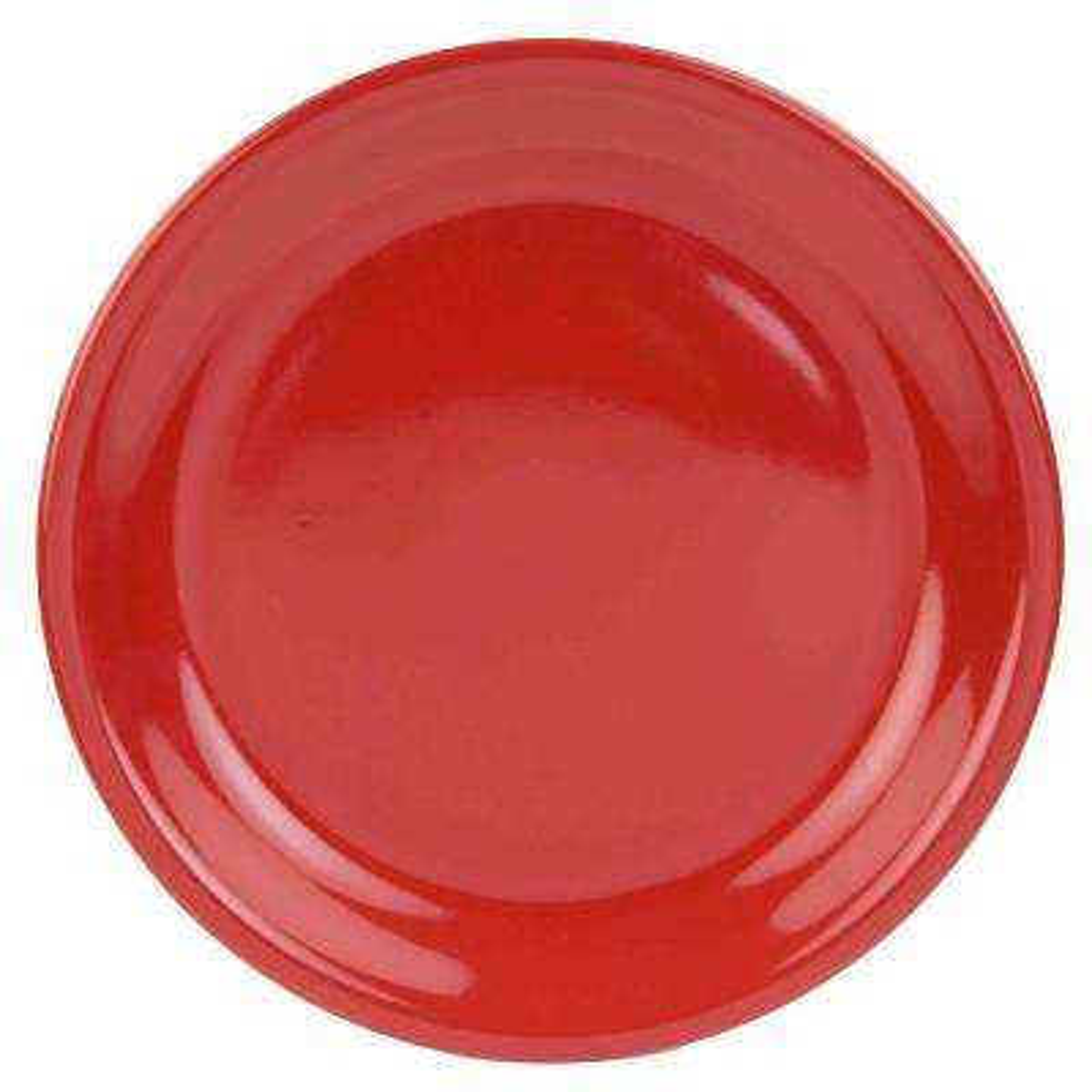 Red Dinner Plate