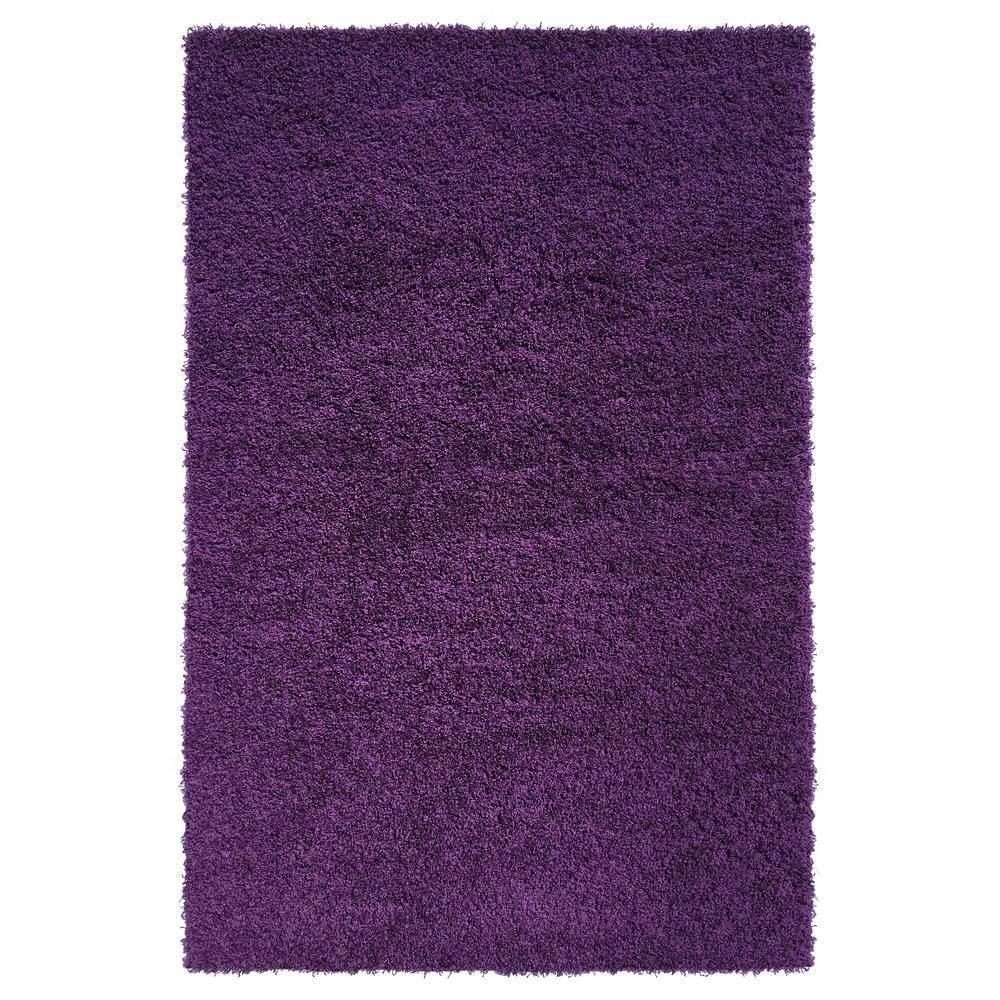 5 X 7 - Plush - Purple - Area Rugs