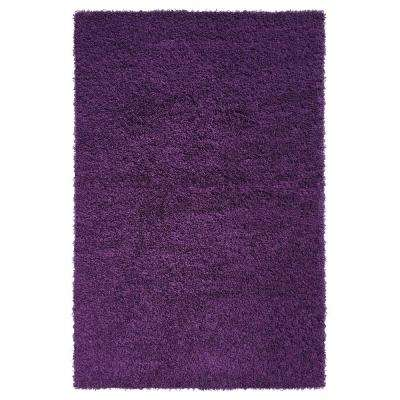 Bella Collection Purple 6 ft. 7 in. x 9 ft. 3 in. Area Rug