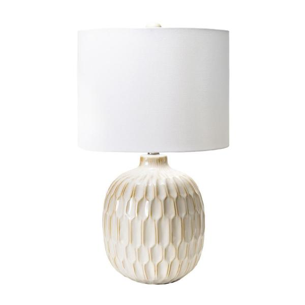 Nuloom Venice 25 In Cream Contemporary, Home Depot Table Lamps For Bedroom