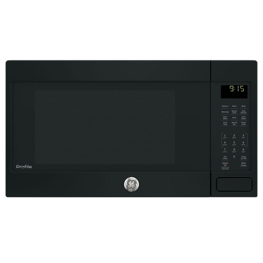 Countertop Convection Microwave Oven In Black