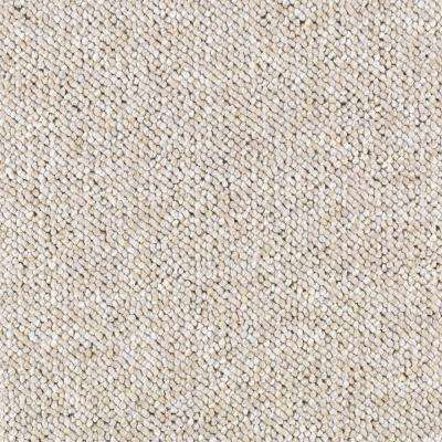Carpet Sample - Tidewater - Color Sandcastle Loop 8 in x 8 in
