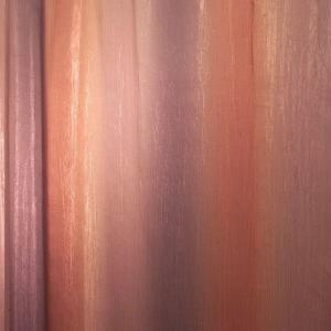 Ombre Print Shower Curtain in Brown/Gold by