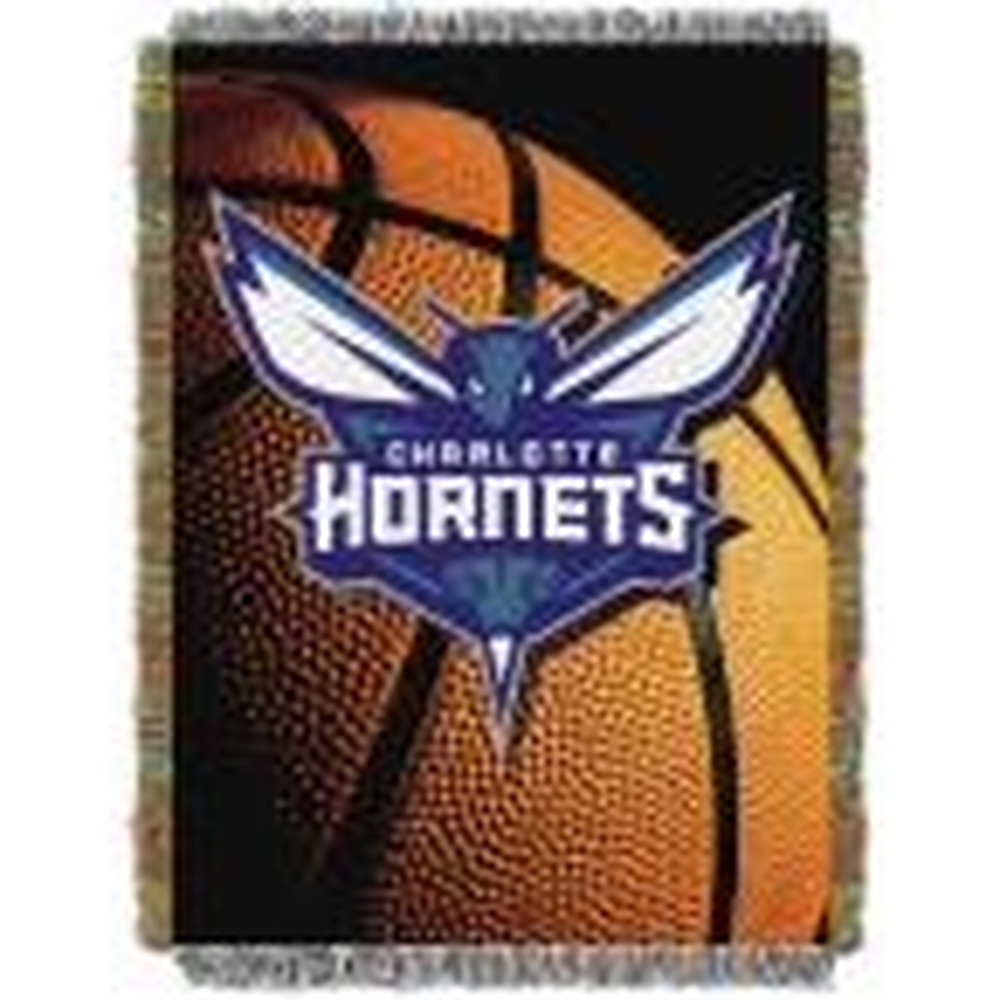 Charlotte Hornets Polyester Throw Blanket