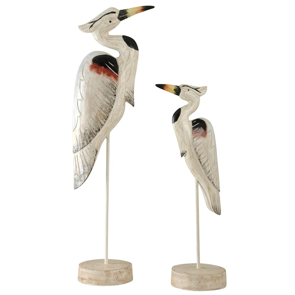 StyleCraft Seaguar Heron on Stands (Set of 2), White was $119.99 now $46.32 (61.0% off)