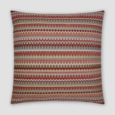 Denmark Sienna Feather Down 20 in. x 20 in. Standard Decorative Throw Pillow