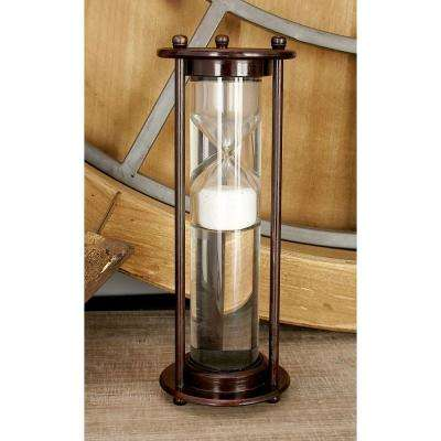 3 in. x 9 in. New Traditional Chrome Floating Sand Timer