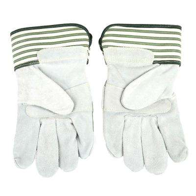 Women's M Lined Premium Cowhide Leather Palm Gloves