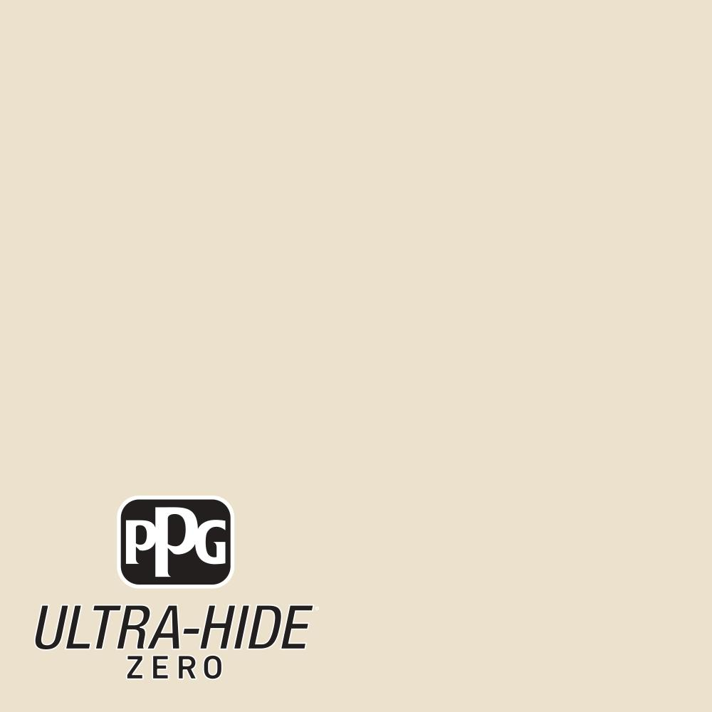 PPG 5 gal. #HDPWN41 Ultra-Hide Zero Eloquent Ivory Flat Interior Paint