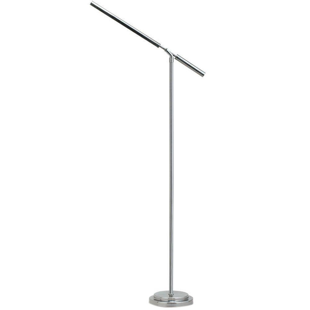 OttLite 56 in. Matte Silver Floor Lamp