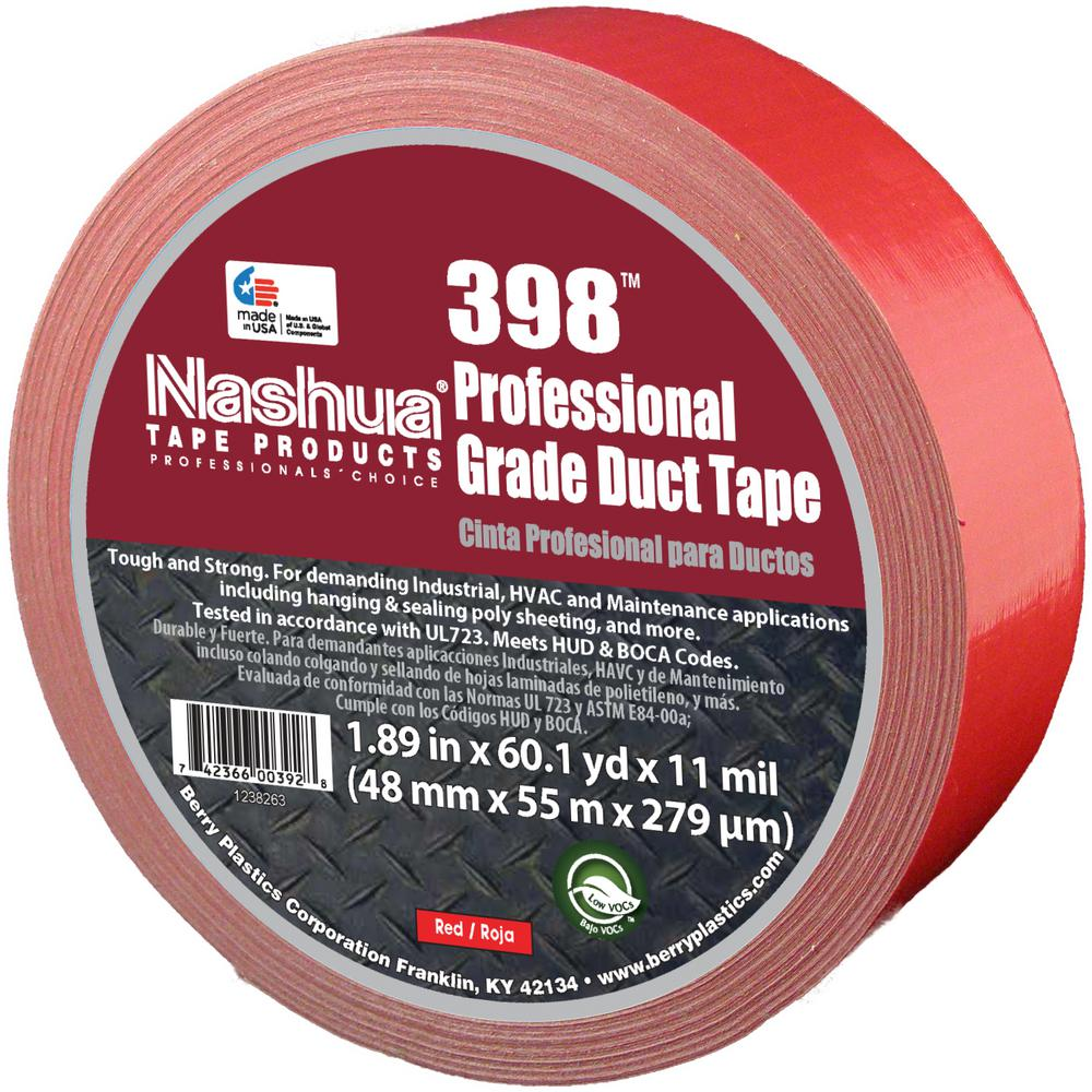 1.89 in. x 60.1 yds. 398 All-Weather HVAC Duct Tape in