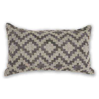 Grey Scottsdale 12 in. x 20 in. Decorative Pillow