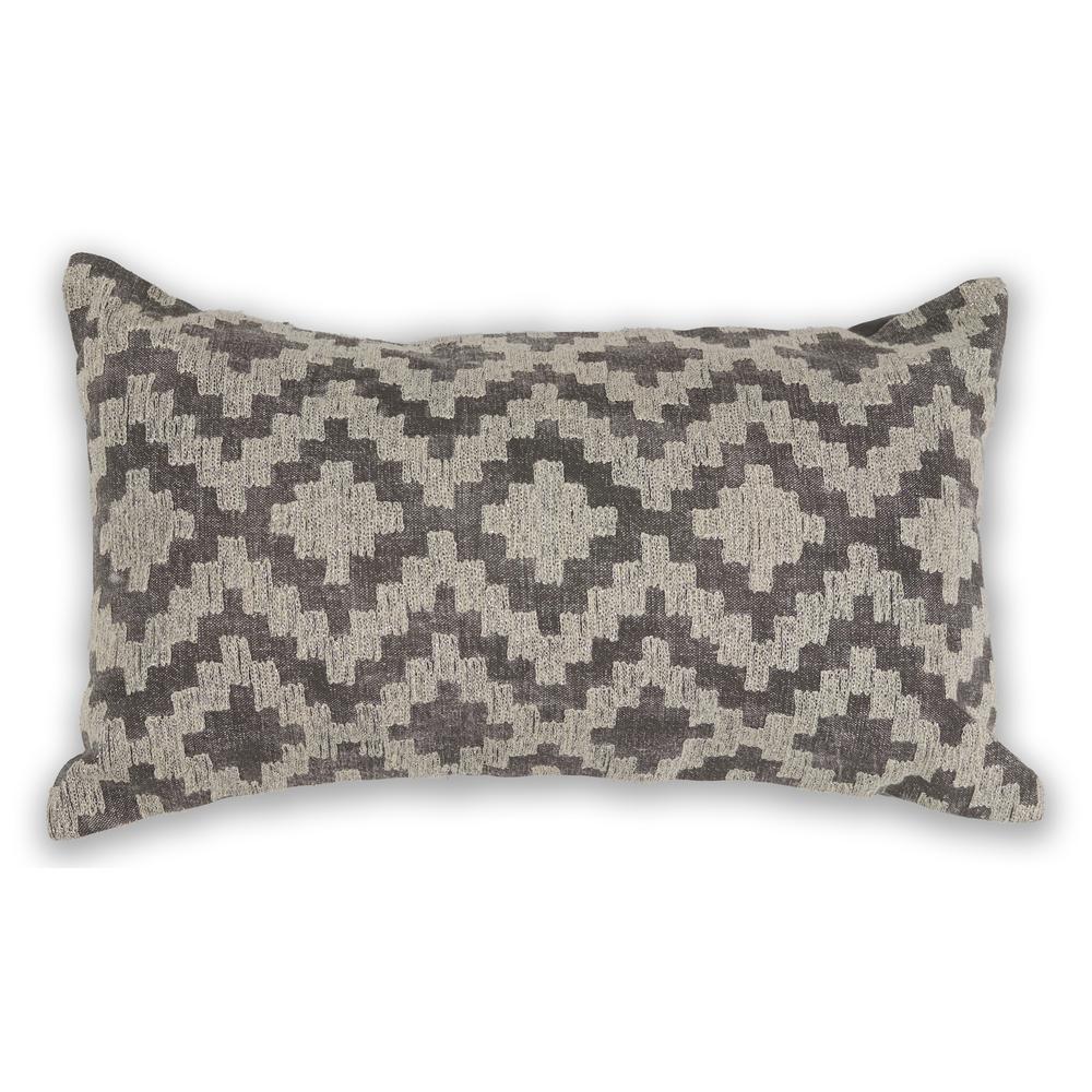Grey Scottsdale 12 in. x 20 in. Decorative Pillow