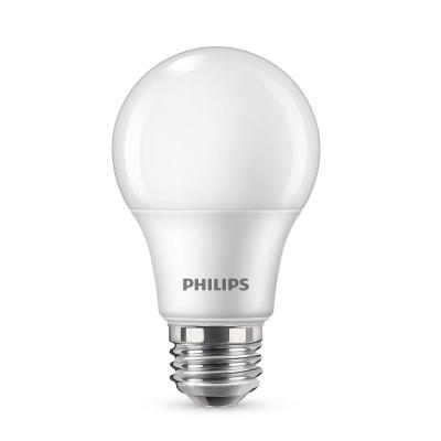 60-Watt Equivalent A19 Non-Dimmable Energy Saving LED Light Bulb Soft White (2700K) (16-Pack)
