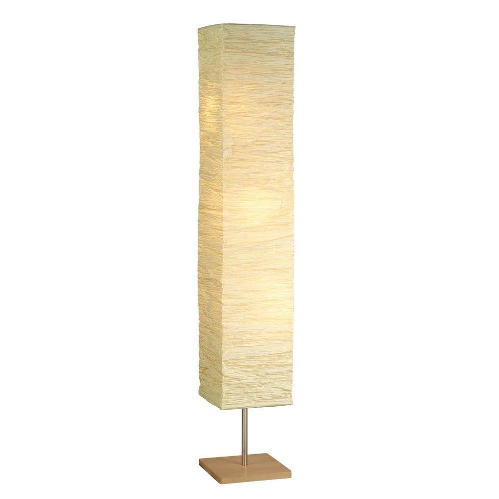 Natural Wood Floor Lamp 8022 12