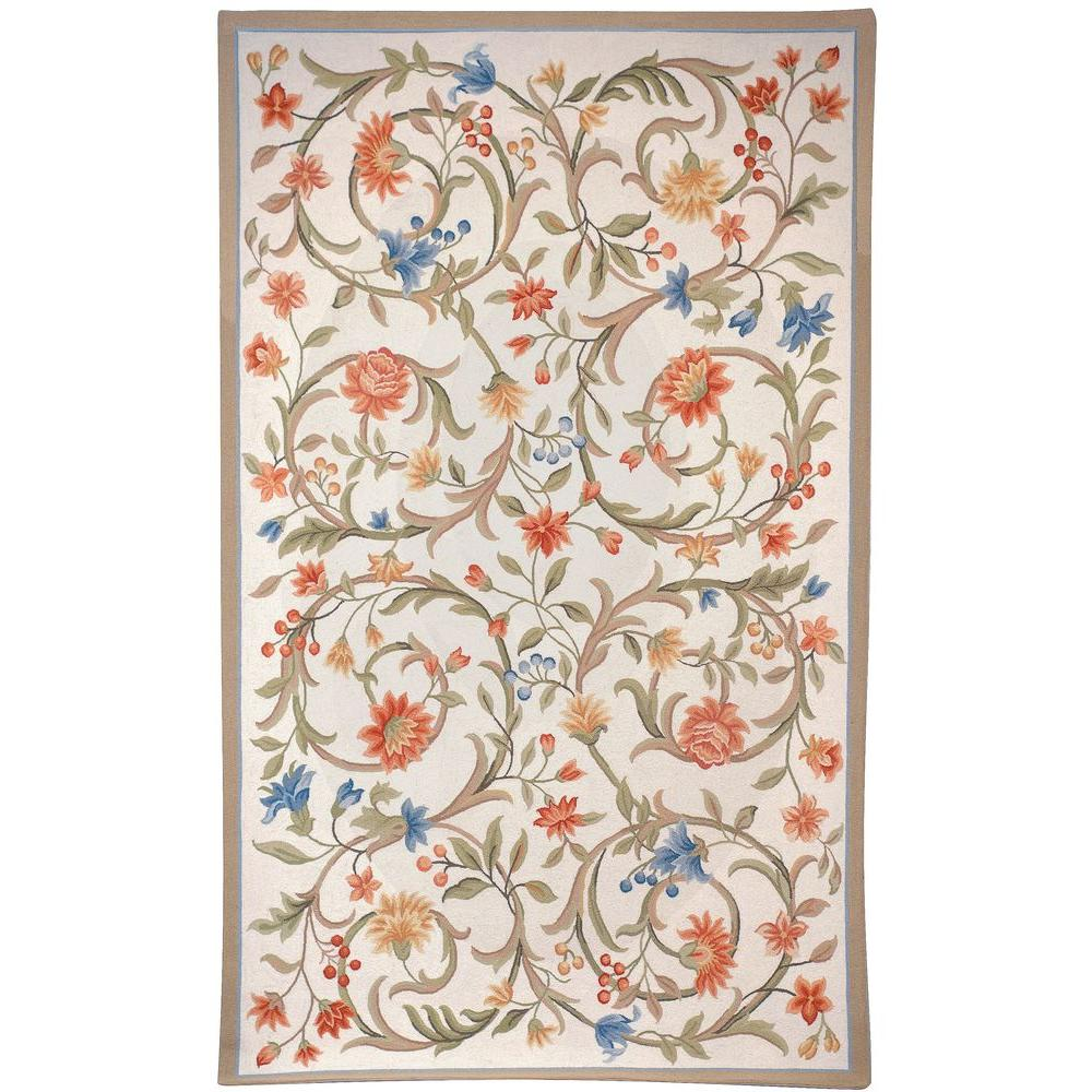 Chelsea Ivory 6 ft. x 9 ft. Area Rug