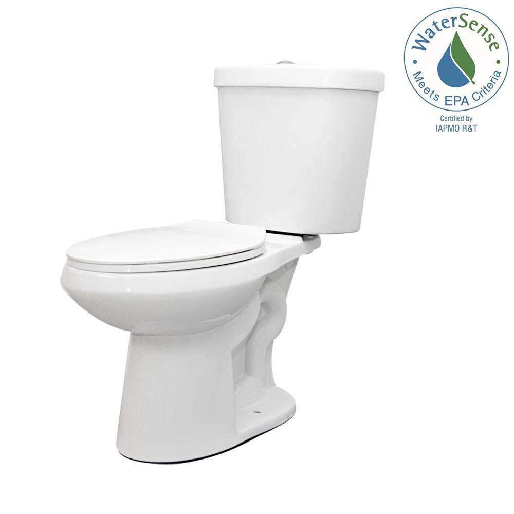 Glacier Bay - Toilets, Toilet Seats & Bidets - Bath - The Home Depot