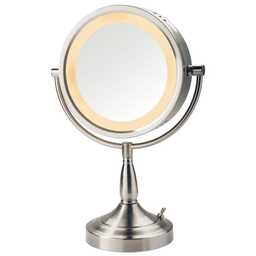 Attrayant Lighted Table Mirror