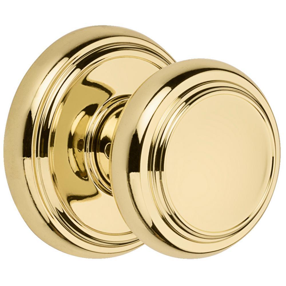 Baldwin Prestige Alcott Polished Br Hall Closet Door
