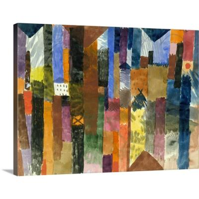 """""""Before the Town"""" by Paul Klee Canvas Wall Art"""