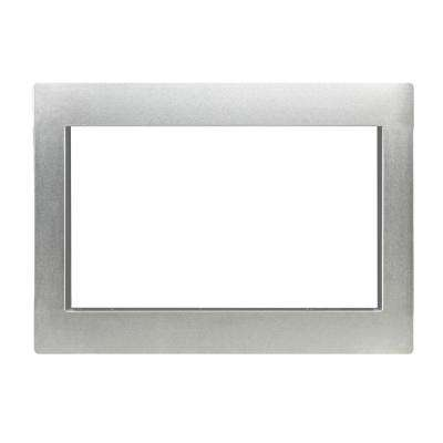 Trim Kit for Countertop Microwave Oven in Stainless Steel