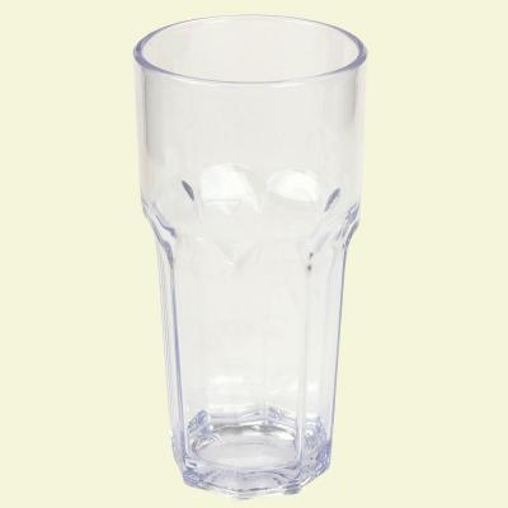 14 oz. SAN Plastic Clear Tumbler (Case of 24)