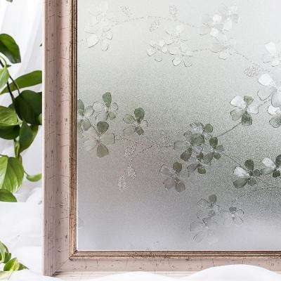 35.4 in. W x 78.7 in. L Decorative and Privacy 3D Window Film