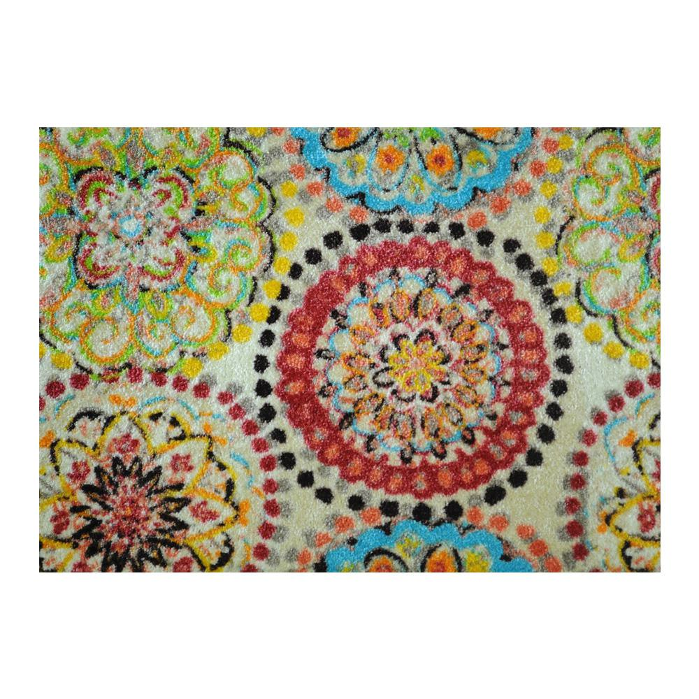 Studio 67 In-Home Washable/Non-Slip Vintage Fresco 2 ft. 3 in. x 1 ft. 5 in. Area Rug & Mat