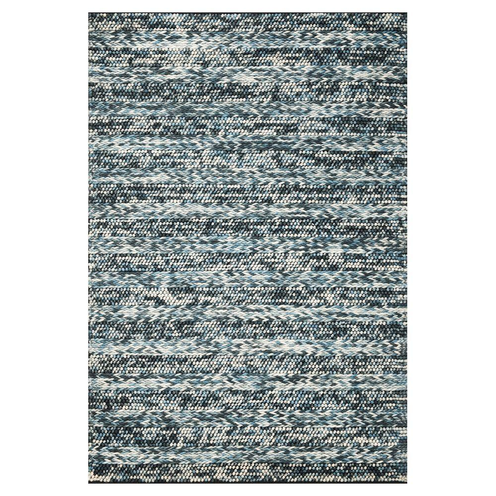 Ruggable Washable Ombre Blue 5 Ft X 7 Ft Stain Resistant