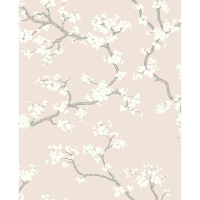 Branches Paper Strippable Wallpaper (Covers 56 sq. ft.)