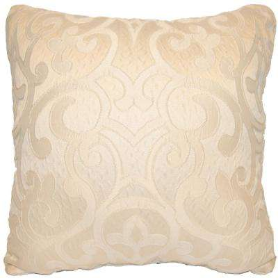 Erin Ivory Standard Decorative Pillow