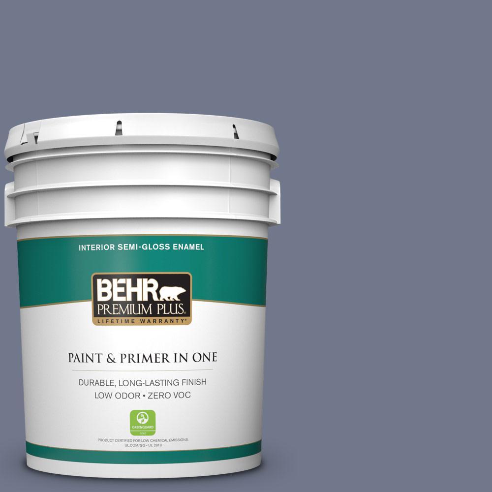 BEHR Premium Plus 5-gal. #S550-5 Fantasia Semi-Gloss Enamel Interior Paint