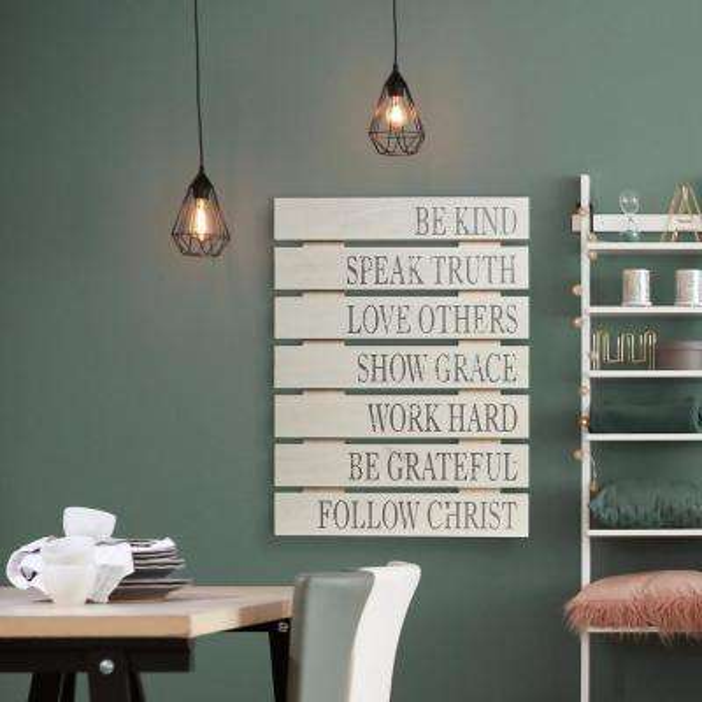 Be Kind Wood Palllet Decorative Sign