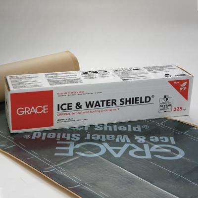 Peel Stick Underlayment Underlayments Leak Barriers Roofing The Home Depot
