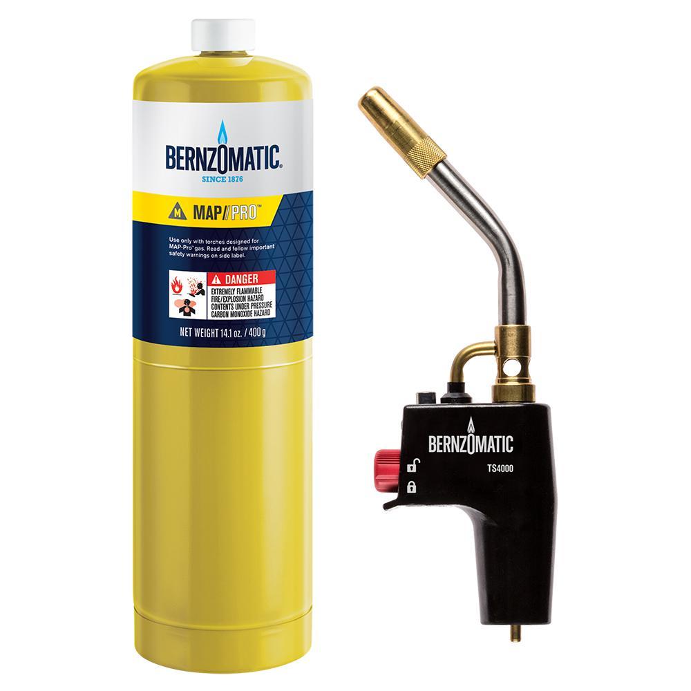 Bernzomatic TS8000KC Premium Torch Kit-336638 - The Home Depot