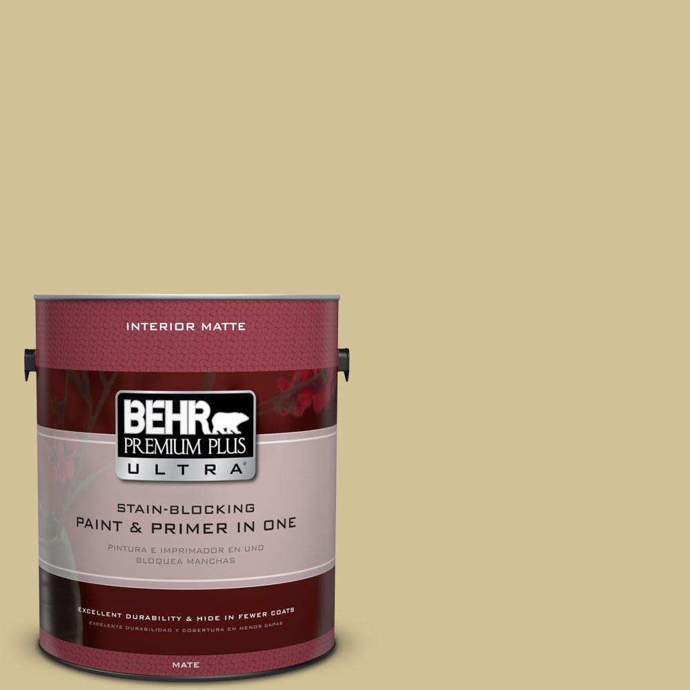 BEHR Premium Plus Ultra 1 gal. #370F-4 Winter Mood Matte Interior ...