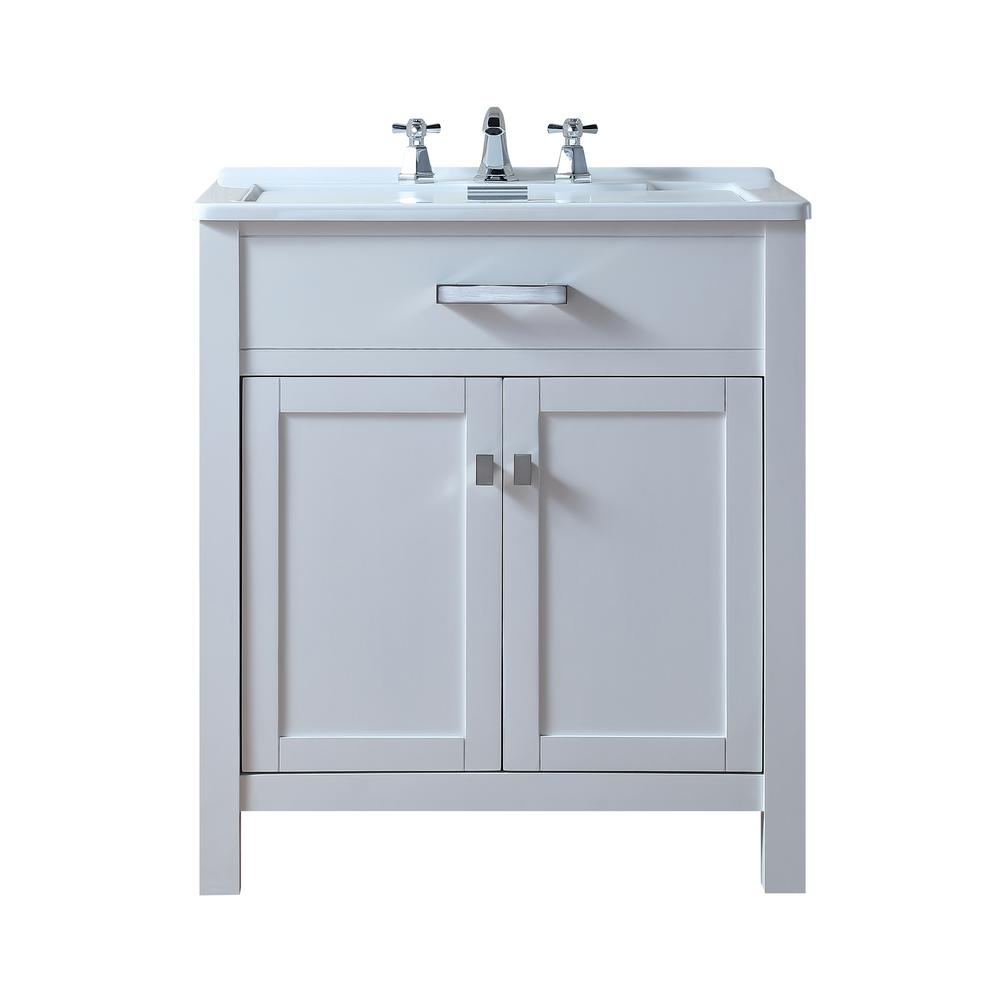 Drop In Laundry Room Sink.Stufurhome Radiant 30 In X 22 In White Acrylic Drop In Laundry Utility Sink