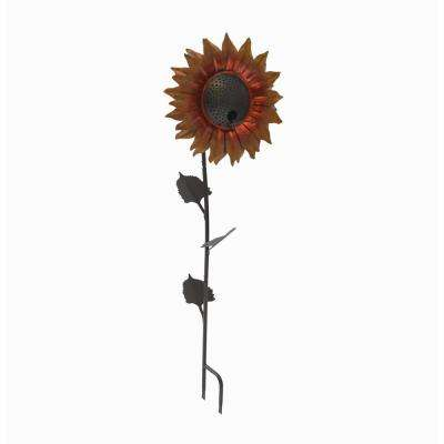 42 in. Velvet Queen Sunflower Bird Feeder