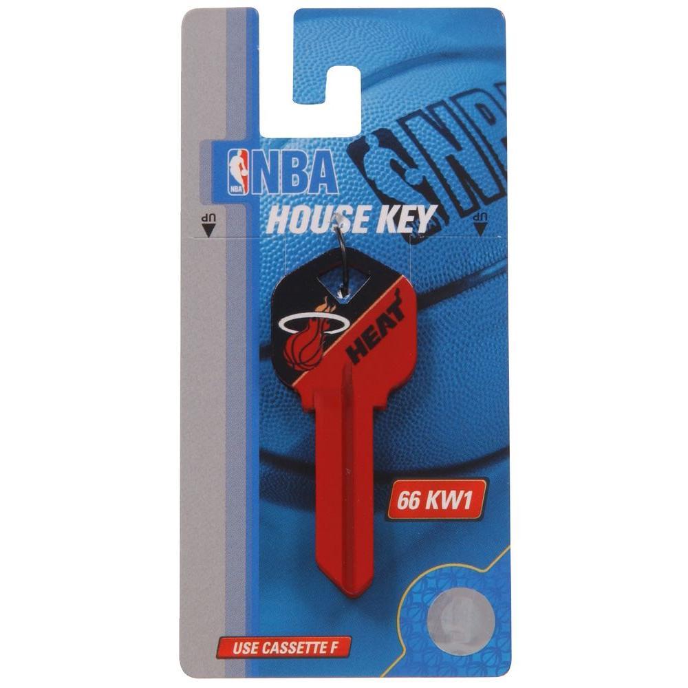 dbcf1d72e39 The Hillman Group #66 Sports NBA-Miami Heat Key Blank-94073 - The ...