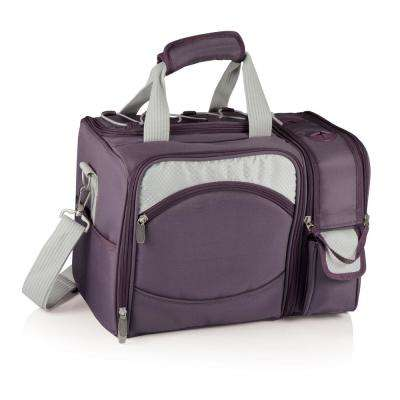 Aviano Malibu Natural Wood Picnic Cooler Tote