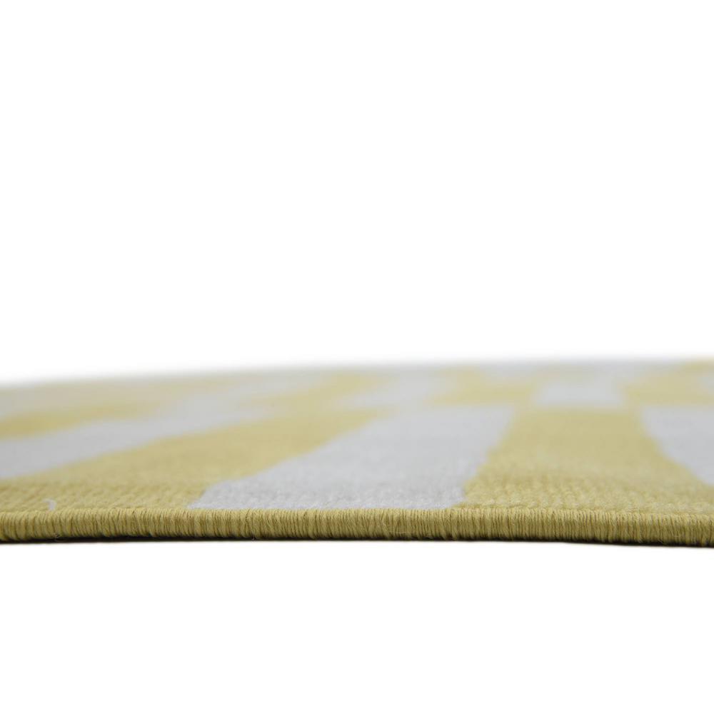 Unique Loom Williamsburg Striped Yellow