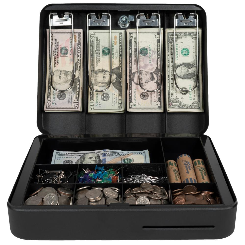 Royal Sovereign Deluxe Cash Box