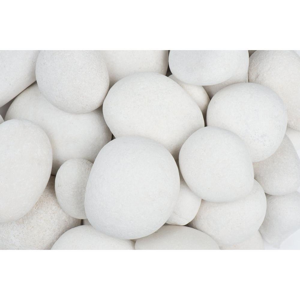 0.4 cu. ft. Large Egg Rock Caribbean Beach Pebble (60-Pack Pallet)